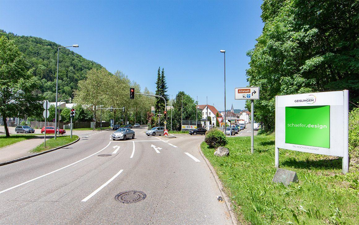 Geislingen Stadteingangsschild